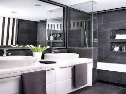 gray bathroom vanity tile ideas walls cabinets and