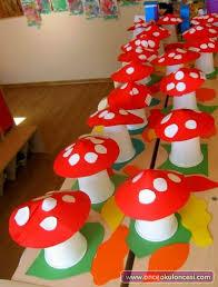Paper Cup Mushroom Craft