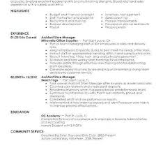 Military Experience On Resume Example Fresh