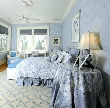 Blue And White Bedroom Idea Classic Fabric Decor Ideas Traditional
