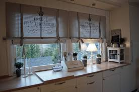 french country kitchen curtains ideas using creative kitchen