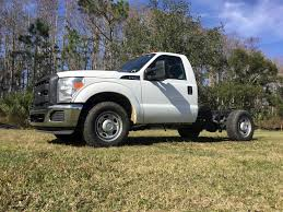 100 2014 Ford Trucks F350 XL Cab Chassis Truck For Sale Kissimmee FL