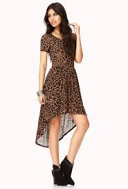 forever 21 wild thing high low dress in black lyst