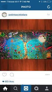 Secret Garden Enchanted Forest Johanna Basford GardenAdult ColoringColoring BooksPencil ArtArt RoomsColored