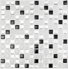 lovinn d tapete modern schwarz weiß 3d stein mosaik