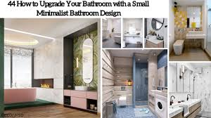 44 Minimalist Ideas To Upgrade Your Bathroom Design - Decoraiso.com New Modern Minimalist Bathroom Ideas Best Picture Hd Plaieautifulmornbarosonhomedesignwithis Spacious Design 3d Render Stock Photo 5 For Every Taste Staged4more Simple Designs Fr Small Spaces Dhlviews 42 Gorgeous But Looks Luxurious Inspiration Hugo Oliver Bright Glass Shower Edit Now Bathroom Tips Purist Design Hansgrohe Sg 40 Style Bathrooms 48 Ingenious Contemporary Inspiring