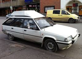 Yes Its An Appliance White Citroen BX Van A Finnish Conversion Of The Sharp Edged Bertone Loadhauler Lose Rear Seat Altogether Saw Hole Into