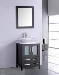18 Inch Deep Bathroom Vanity Top by Legion 24 Inch Modern Vessel Sink Bathroom Vanity Espresso Finish