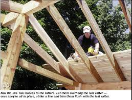 tongue and groove wood roof decking handyman s how to build a screen porch