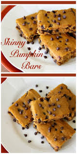 Lumpkin The Pumpkin by Skinny Pumpkin Bars Cooking With Ruthie