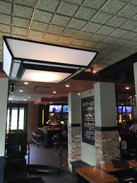 want a striking effect on high ceilings tectum designer ceiling