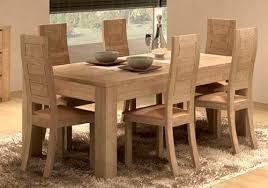 salle à manger design figaro en chêne meubles bois massif