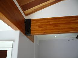 Black Decorative Joist Hangers by Cedar Beams Internachi Inspection Forum