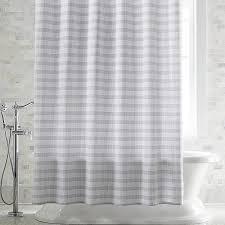 Skyline Grey Shower Curtain