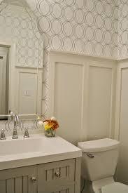 Allen And Roth Bathroom Vanity by Allen Roth White Silver Circles Wallpaper Bath Martha Stewart Seal
