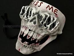 Purge Mask Halloween by The Cross Purge Anarchy Mask Horror Halloween Scary Mask