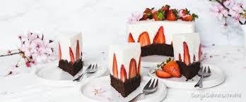 erdbeer sahne torte ohne gelatine erdbeer sahne torte