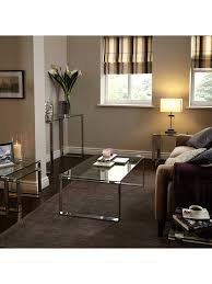 100 John Lewis Hotels Partners Frost Occasional Tables Pair