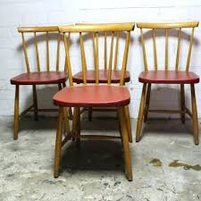 19 Inch Dining Chairs Mid Century Vintage Set Of 4 2 Room