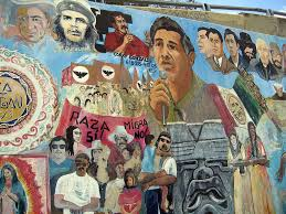 chicano park murals cult religious meaning aztlan rising