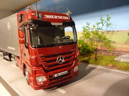 100 2009 Truck Of The Year NZG Demo Mercedes Actros Truck Of The Year Miniatuurshop