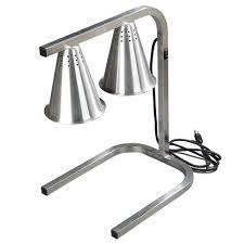 Underwriters Laboratories Portable Lamp by Carlisle Hl723700 Freestanding Adjustable Heat Lamp Two Bulb 120v