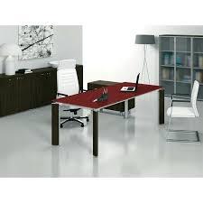 table bureau verre bureau table en verre table bureau verre fill avec retour table de