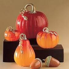 Glass Blown Pumpkins Seattle by Hand Blown Glass Pumpkin Purple Glass Pumpkins Blown Glass And