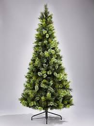 Pre Lit Pencil Christmas Trees Uk by Killington Pine Slim Pre Lit Christmas Tree 6ft Very Co Uk