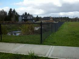chain link fences vancouver wa cascade fence deck