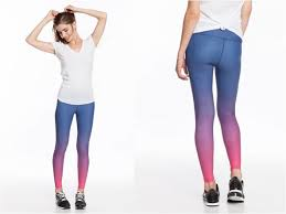 Ombre Yoga Pants Marine Layer