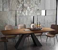 edelstahl esszimmer set home möbel minimalistischen moderne holz esstisch und 8 stühle mesa de jantar muebles comedor