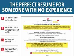 Sample Resume With No Work Experience College Student Inspirational Luxury
