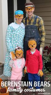 Berenstain Bears Halloween by How To Diy Berenstain Bears Costumes For The Whole Family