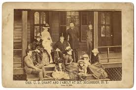US Grant And Family At Mt McGregor Saratoga Springs NY