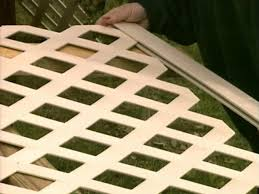 how to build a lattice wall beneath your deck how tos diy