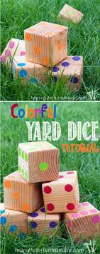 Colorful Yard Dice Tutorial   Yards, Tutorials And Yard Games Yard Games Entertaing For Friends And Barbecue Diy Balance Beam Parks The Park Outdoor Play Equipment Boggle Word Streak Game Games Building 248 Best Primary Images On Pinterest Kids Crafts School 113 Acvities Children Dch Freehold Nissan 5 Unique You Can Play In Your Backyard Outdoor To In Your Backyard Next Weekend Best Projects For Space Water 19 Have To This Summer Backyards Outside Five Fun Kiddie Pool Bare