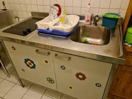 single küche für gartenlaube