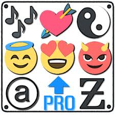 Symbols emojis letters nicknames text arts PRO Android Apps