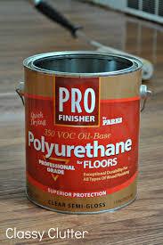 Applying Minwax Polyurethane To Hardwood Floors by How To Refinish Wood Floors