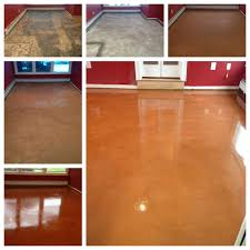 Sealing Asbestos Floor Tiles With Epoxy by The Beauty Of Concrete Flooring 50 Years Of Asbestos Tile
