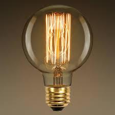 g30 vintage antique light bulb style 40w