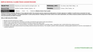 Work From Home Insurance Claims Processor Elegant Medical Cover Letter And Resume Samples