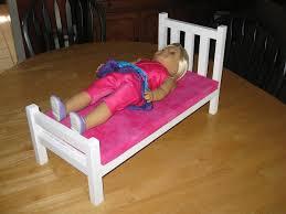American Girl Doll Bed by yooper LumberJocks woodworking