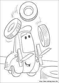 Disney Cars Guido Coloring Pages
