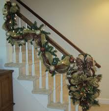 Interior : Red White Christmas Banister Lights Garland For ... Home Depot Bannister How To Hang Garland On Your Banister Summer Christmas Deck The Halls With Beautiful West Cobb Magazine 12 Creative Decorating Ideas Banisters Bank Account Season Decorate For Stunning The Staircase 45 Of Creating Custom Youtube For Cbid Home Decor And Design Christmas Garlands Diy Village Singular Photos Baby Nursery Inspiring Stockings Were Hung Part Adams