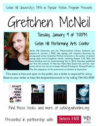 TEN From Page to Screen with Gretchen McNeil