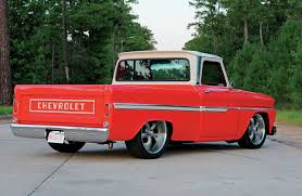 Ron Malinowski Purchased His 1965 Chevy C10 After The Fond Memories ... Pin By Ruffin Redwine On 65 Chevy Trucks Pinterest Cars 1966 C 10 Pickup 50k Miles Chevrolet C60 Dump Truck Item H1454 Sold April 1 G Truck Id 26435 C10 Doubleedged Sword Custom Truckin Magazine Stepside If You Want Success Try Starting With The 1964 Bed Inspirational Step Side Walk Bagged Air Ride Patina Trucks The Page For Sale Orange Twist Hot Rod Network