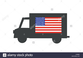 Delivery Truck Icon With American Flag Stock Vector Art ... Fast Shipping Delivery Truck Icon Vector Symbol In Flat Style Truck Noto Emoji Travel Places Iconset Google Lorry Icons Image Artwork Of Free 316947 Download Icon Stock Quka 145247075 Awesome Speedy Photos Clip Art Designs Shipping Delivery Simbol Flat Man With Hand Getty Images Psd Glassy Green Round Button Cargo In Style On A Yellow Background Container White Background Generic