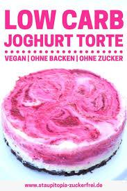 joghurttorte ohne zucker